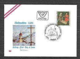 1982 - N. 1553 SU BUSTA CON ANNULLO PRIMO GIORNO (CATALOGO UNIFICATO) - FDC