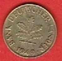 GERMANY # 10 PFENNING FROM 1949 - 10 Pfennig