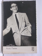 AUTOGRAPHE - DEDICACE - CARTE SIGNEE - ALDO FRANK - Autographes