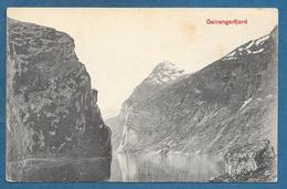NORGE GEIRANGERFJORD UNUSED - Norvegia