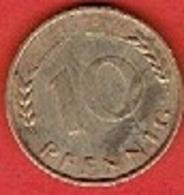 GERMANY # 10 PFENNING FROM 1966 - 10 Pfennig