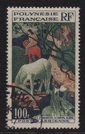 Polynesie - PA N°3 - Gauguin Cheval Blanc - Oblitere - Cote 8.00€ - Airmail