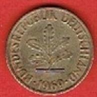 GERMANY # 10 PFENNING FROM 1969 - 10 Pfennig