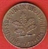 GERMANY # 10 PFENNING FROM 1971 - 10 Pfennig