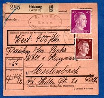 Colis Postal  -  Départ Pfalzburg  -  22/5/1943 - Germany