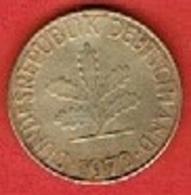 GERMANY # 10 PFENNING FROM 1972 - 10 Pfennig