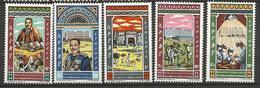 ETHIOPIE N° 669 à 673 NEUF**  SANS CHARNIERE / MNH - Ethiopie