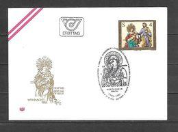 1983 - N. 1588 SU BUSTA CON ANNULLO PRIMO GIORNO (CATALOGO UNIFICATO) - FDC