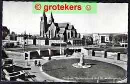 ARNHEM Verkeerscircuit Met St. Walburgskerk 1960 Trolleybus - Arnhem