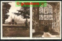 CAMBRIDGE King's College And Chapel 1932 - Cambridge