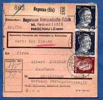 Colis Postal  -  Départ Hagenau  -  12/5/1943 - Allemagne