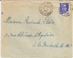 6H1  ---  79  LA FOYE-MONJAULT   B7    Gandon - Marcophilie (Lettres)