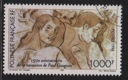 Polynesie - N°564 - Paul Guaguin Les Amants - Oblitere - Cote 25.50€ - Polynésie Française