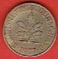 GERMANY # 10 PFENNING FROM 1977 - 10 Pfennig