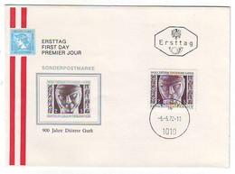 FDC AUSTRIA 1387 - FDC