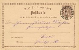 LEIPZIG P.A. No2 - 1873 , Ortsganzsache - Germany