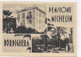 CARD BORDIGHERA  PENSIONE MICHELIN VEDUTINE (IMPERIA)     -FG-N-2-   0882-  28538 - Imperia