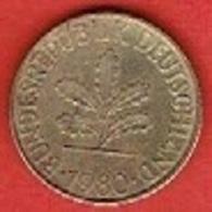 GERMANY # 10 PFENNING FROM 1980 - 10 Pfennig