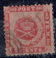 TP CENTRALE ANTILLES DANOISES - N°3 OB - 1860 - Timbres