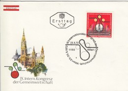 AUSTRIA FDC 1388 - FDC