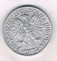 5 ZLOTE 1974  POLEN /0639/ - Poland