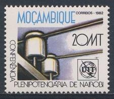 Mocambique  Mozambique 1982 Mi 883 YT 869 SG 945 ** Telephone Line - ITU Conference / Isolatoren Telefonleitung / UIT - Telecom