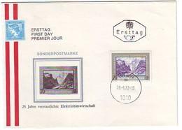 FDC AUSTRIA 1389 - FDC