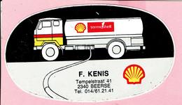 Sticker - Termoshell - F. KENIS - Tempelstrrat 41 Beerse - Autocollants