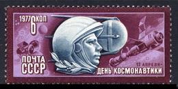 RUSIA 1977 - JORNADA DE LA COSMONAUTICA - YURI GAGARIN - YVERT Nº 4363** - Space