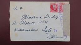 Guerra Civil 1937, Gerona A Safi Marruecos , Censura Militar , A Voir Variété Sur Timbre ? - 1931-Aujourd'hui: II. République - ....Juan Carlos I