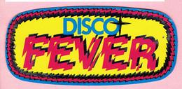 Sticker - DISCO  FEVER - Autocollants