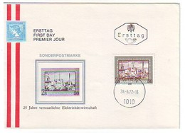 FDC AUSTRIA 1390 - FDC