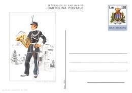 Republica Di San Marino - Tempera Di Bruna Pecciarini - Milite Del Concerto Mulitare - San Marino
