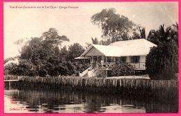 Congo Français - Vue D'une Factorerie Sur Le Lac Cayo - Collection J. AUDEMA - Commerce