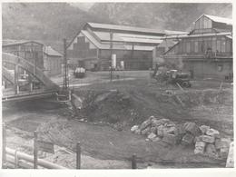"""5  Photos D'une Usine  """" LUZENAC Sur Ariège Mines De Talc  ??"""" Ou ??? - Photographs"""