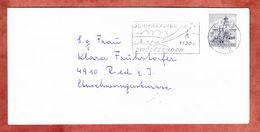 Brief, EF Salzburg, MS Schiparadies Zwoelferhorn St Gilgen, Nach Ried 1971 (68968) - 1945-.... 2ème République