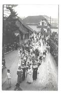 SUISSE..Carte Postale Photo...Schillerhuldigung In LUZERN 1905..Photo E. Synnberg Luzern.. FETE, DEFILE COSTUME..2 Scans - LU Luzern