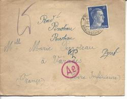 Enveloppe De STO Watenstedt über Braunschweig - Marcophilie (Lettres)