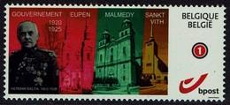 Belgien Belgie Belgium 2019 - Eupen Malmedy St-Vith - Gouvernement Baltia - MiNr 4229 - Guerre 14-18