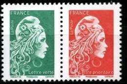 Paire De Carnet Gommée LP + LV Neufs ** - France