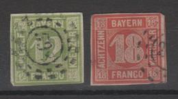 Bayern , 12 + 18 Kreuzer , Fehlerhaft - Bayern