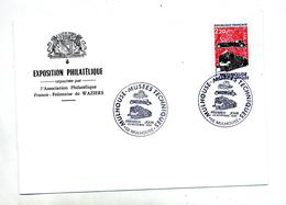Lettre Fdc 1986 Mulhouse Musee - FDC