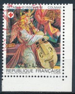 France - Croix-Rouge 1985 Retable D'Issenheim YT 2392a Obl. - France