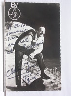 AUTOGRAPHE - DEDICACE - CARTE SIGNEE - CHRISTIAN JUIN - Autographs