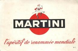 Buvard Ancien MARTINI - Liqueur & Bière