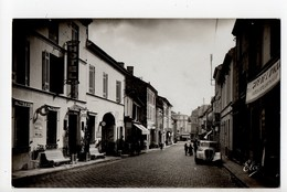 SAINT ANDRE De CUBZAC - 33 - Gironde - La Rue Nationale (Automobile) - France