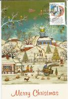 La Nativité, Australian Carol,  Belle Carte-maximum D'Australie - Christmas