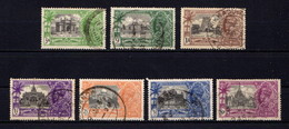INDIA    1935    Silver  Jubilee    Set  Of  7    USED - 1911-35 Roi Georges V