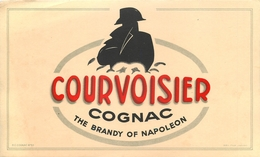 Buvard COGNAC COURVOISIER - THE BRANDY OF NAPOLEON - Liqueur & Bière