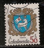 TCHECOSLOVAQUIE   N°  2476  OBLITERE - Tchécoslovaquie